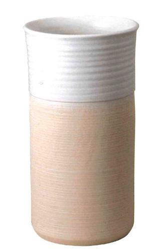 信楽焼 傘立て サイズ:W24.5×H45(cm) 【北海道・沖縄・離島の送料は別途見積り】※手作り品のため、色・形・大きさ等が少々変わってしまう場合があります。シンプルモダン 和風 レインラック 伝統 工芸品 焼き物 傘 おしゃれ オシャレ スリム