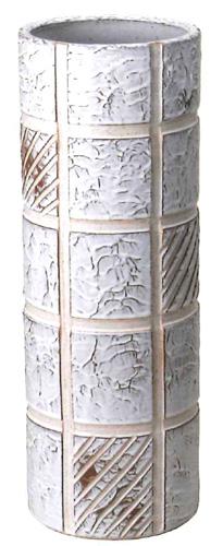 【送料無料】信楽焼 傘立て サイズ:W21×H58(cm) 【北海道・沖縄・離島の送料は別途見積り】※手作り品のため、色・形・大きさ等が少々変わってしまう場合があります。シンプルモダン 和風 レインラック 伝統 工芸品 焼き物 傘【smtb-MS】