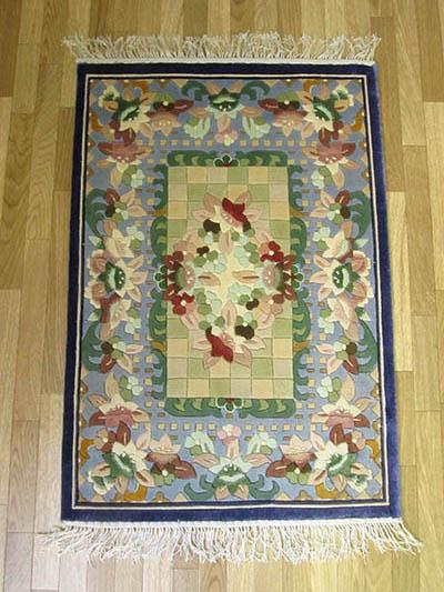 【即納可!!】【送料無料!!】手織り シルク120段最高級 シルク玄関マット 約90x60cm