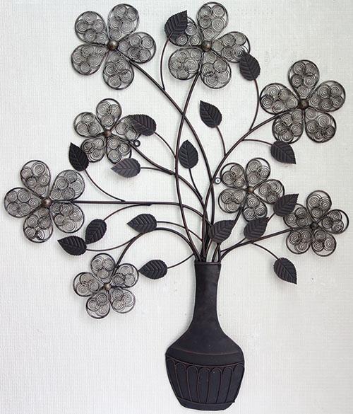 【即納可! 壁飾り!】再入荷しました 花柄♪アイアン 壁掛け ウォールパネル ウォールアートフラワー 花柄 壁掛け ウォールデコレーション 壁飾り, イシオカシ:b86358ba --- sunward.msk.ru