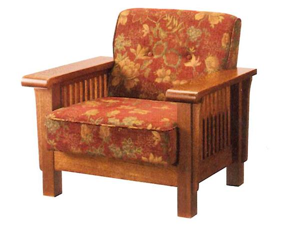 【開梱設置・送料無料】三越伊勢丹プロパティデザイン Country House(カントリーハウス)  1Pソファ 日本製椅子 リビング 1人掛け オーク 張り地3色対応 クッション 布張り北海道・沖縄・離島は送料別途お見積り