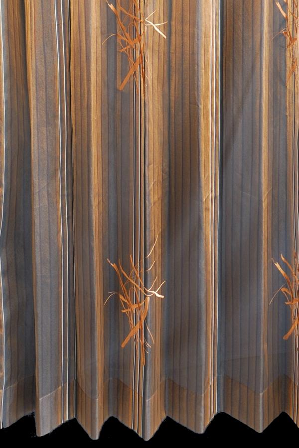 カーテン オーダーメイドカーテン 送料無料 高級 ドイツ製 ブラックストライプ 「アルンヘム」 1.5倍ヒダ 巾(~100cm)×丈(~150cm)新築 マンション かけ替え 掛替  オーダーカーテン