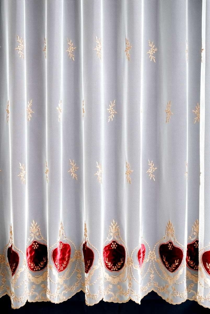 カーテン オーダーカーテン 送料無料 高級 フランス製 チュール・ベルベット 「ボルドー」   2倍ヒダ 巾(201~300cm)×丈(~210cm)新築 マンション かけ替え 掛替 1枚(片開き)/2枚セット(両開き)選択可能