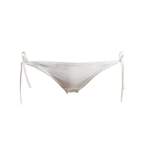 Rio Collection Lustrous Satin Tie Side Panties (Made in Japan, Size M)