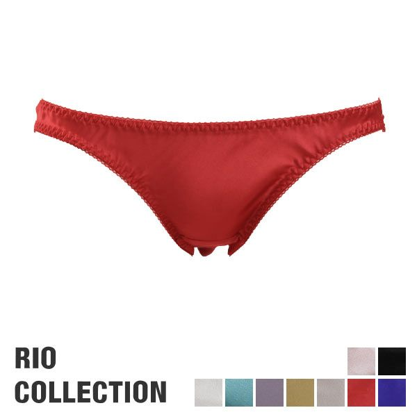Rio Collection Lustrous Satin Panties (Made in Japan)