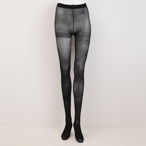fc6ba04a082 ... Atsugi Astigu Collection 40-Denier Sheer Black Tights (Made in Japan)  ...