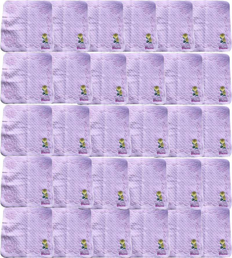 【12ケ月の花タオルハンカチ/8月ひまわり30枚】名前入り ハンカチ 誕生日 プレゼント 花 刺繍ハンカチ 12か月の花 花言葉 女性 レディース 大人 内祝い