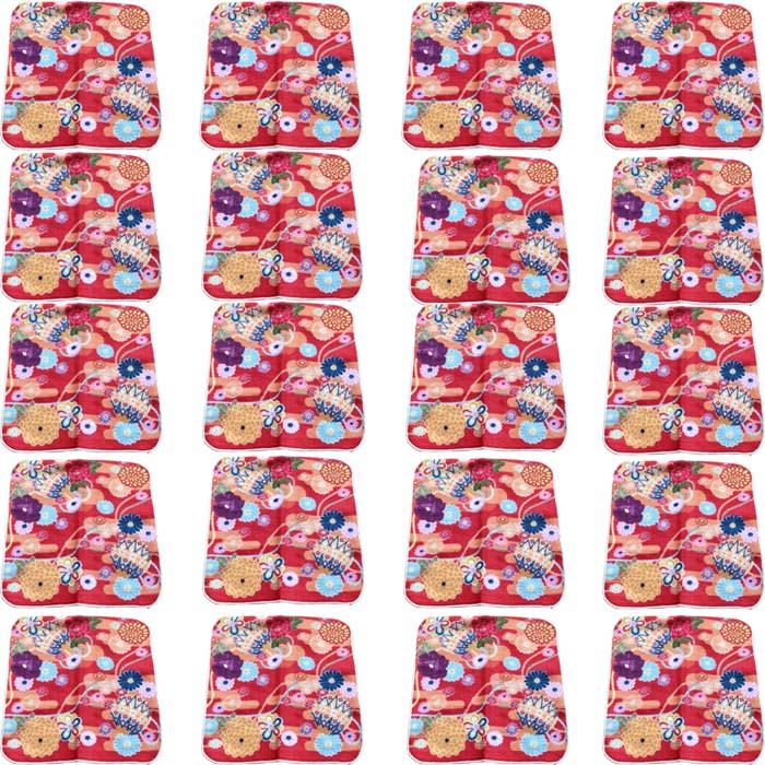 【和柄プリントガーゼタオルハンカチ/菊と毬20枚】名前入り ハンカチ 名入れ 和 還暦祝い 記念品 名入れ 祖母 名入れ 和装小物 ネーム刺繍 タオル記念品 名入れプレゼント 文字入り