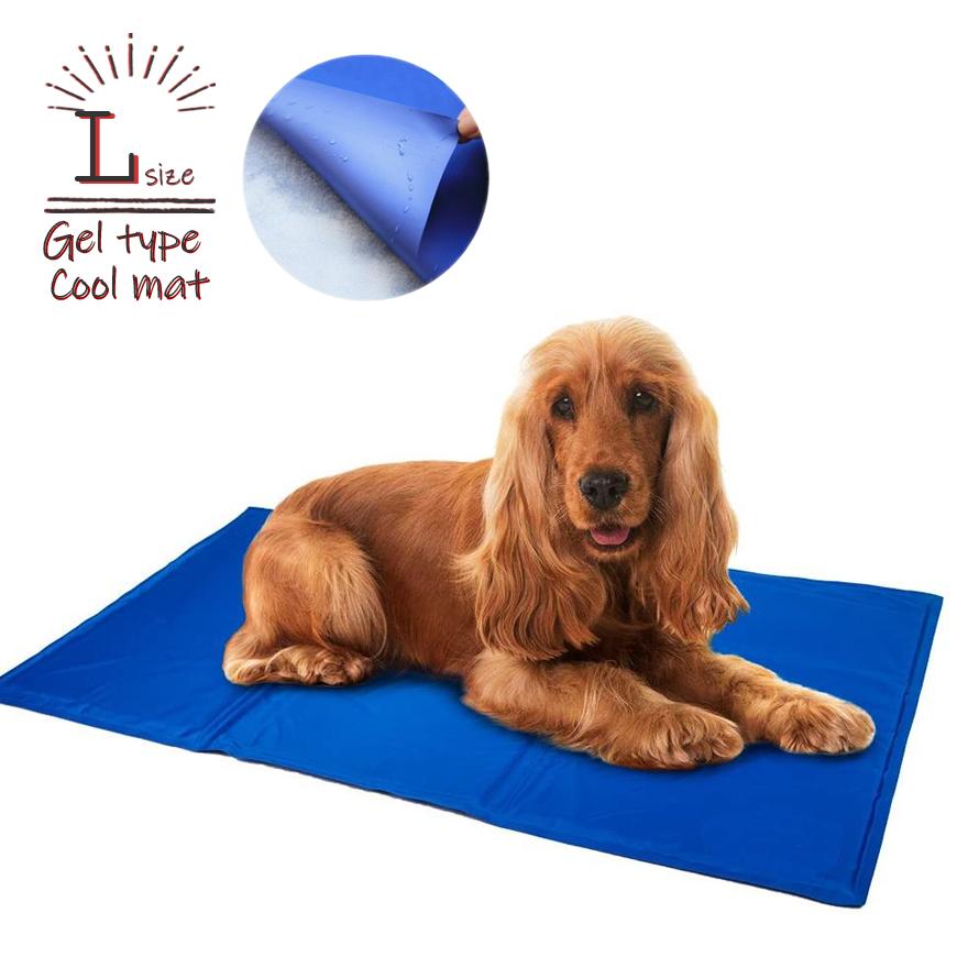 至高 熱中症を防止するひんやりクールマット 防水仕様 ひっかきに強い素材を使用しています 犬 猫が食べても大丈夫なジェル素材の暑さ対策マットです 最大1500円クーポン配布中 ひんやりマット 猫 ペットベッド Lサイズ ヒエヒエ 小型犬 中型犬 大型犬 冷やす 熱中症対策 多頭飼い グッズ 暑さ対策 猫用 ●日本正規品● つめたい ベット クーラー 冷却 首ひんやり クールマット ペット用 犬用