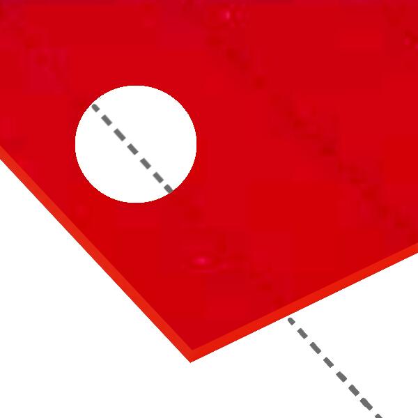 信頼できる国産アクリル板の透明板 カラー透明板 艶けし板 パール板 在庫処分 カラー板 紫外線カット板多品種掲載 日本製 在庫一掃 アクリル板 赤透明 縮小カット1枚無料 エッジで手を切る事はなし 800X1100mm カーマイン 厚み5mm キャスト板 糸面取り仕上