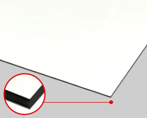 【送料無料】 ホワイトボード(マーカー用)両面ホワイトCK スチールボード (スチール複合板) 3mm 910×1820mm 5枚セット CK-3L-WW