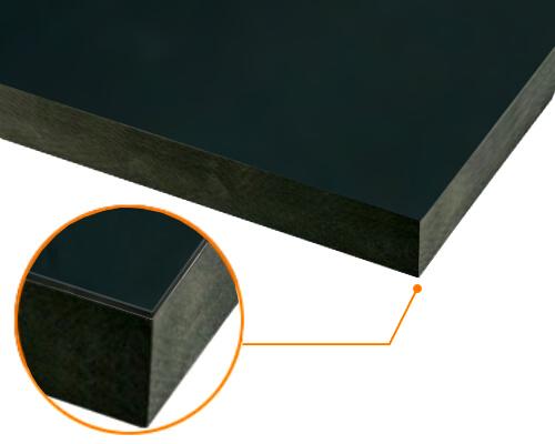 カルプボード/スーパーボード黒40t 片面貼り合せ 面材 アルミ複合板 黒3mm 910X1820mm ●業務用