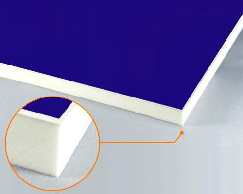 チャンネルボード 新品 送料無料 サンロイドチャンネル ゼブラチャンネル ネオボード カルプボード スーパーボード ソフトボード 面材 910X1820mm 3mm アルミ複合板青 送料無料 一部地域を除く スーパーボード白20t 片面貼り合せ 業務用