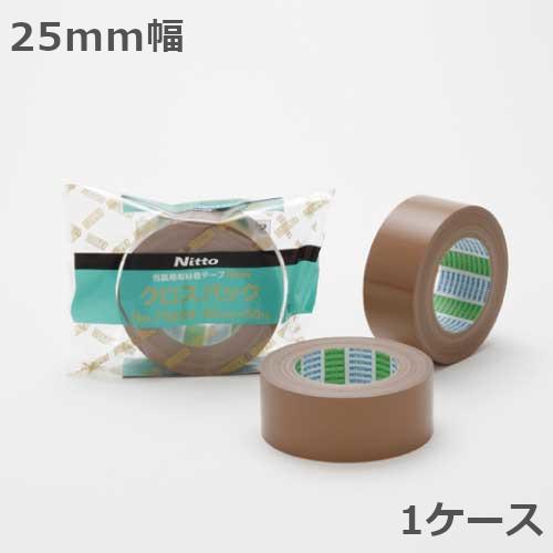 日東電工 布テープ 25mm幅×25m巻 クロスパック No.7585N 60巻入×1ケース(北海道・沖縄・離島も送料無料)