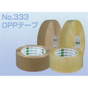 オカモトOPPテープ 長尺 No.333 透明巾48mm×長さ1500m×厚さ0.053mm 3ケース(5巻入×3ケース)(HA)