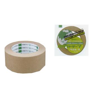 オカモト ラミレス No.224 クリーム巾60mm×長さ50m×厚さ0.14mm 5ケース(40巻入×5ケース)(HA)