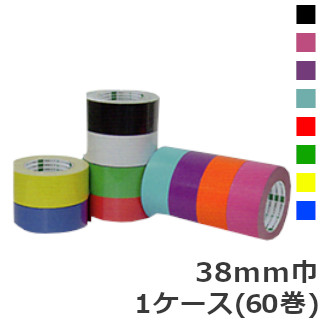 オカモト クラフトテープ ピュアカラー No.228 カラー巾38mm×長さ50m×厚さ0.14mm (60巻入)【ケース売り】(HA)