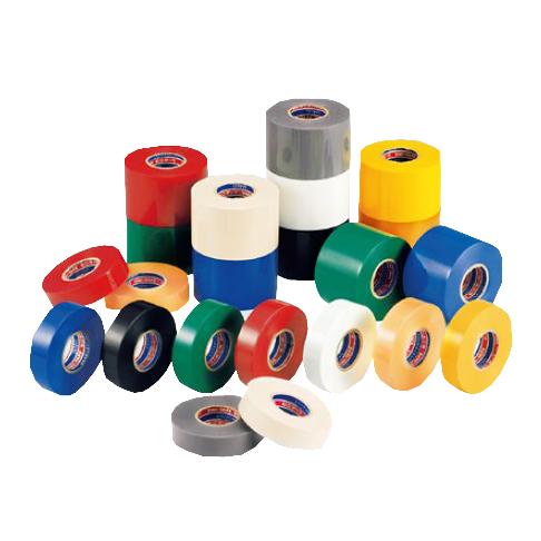 【法人様限定商品】デンカ ビニテープ #101 (全9色)幅38mm×長さ20m×厚さ0.2mm (100巻入)【ケース売り】(HA)