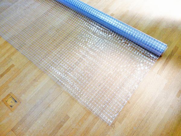 透明糸入りターポリン SK-5500オールマイティ(防炎+静電防止+耐候+耐寒)0.55mm×203cm×30m巻