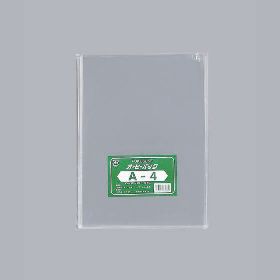 福助工業 オーピーパック No.42-65(テープなし) 420mm×650mm クラフト包装(500枚) FK