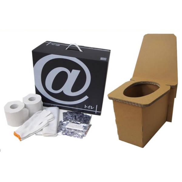 段ボール製 非常用・野外用 簡易トイレ 9セット(KHS)