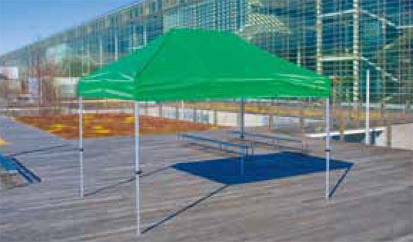 かんたんテント KA/4WA 2.4m×3.6m (オールアルミフレーム)