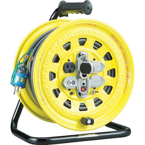 ハタヤ サンタイガーリール 単相100V型30m 温度センサー・アースチェック付 《発注単位:1台》(OB)