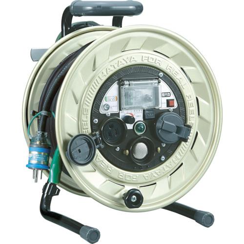 ハタヤ 大容量メタルセンサー(金属感知機能付)リール 単相100V 20m 《発注単位:1台》(OB)