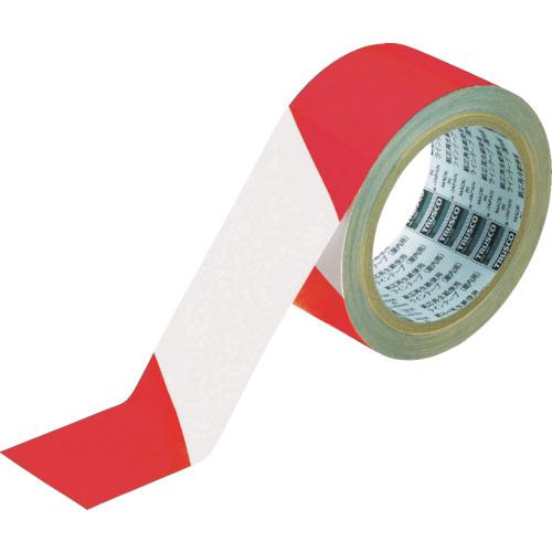ラインテープ ガードテープ TRUSCO トラスコ 目印 トラ 8 25 人気ブランド多数対象 《発注単位:1巻》 ポイント2倍 TRUSCO トララインテープ 0~18時限定 OB アイテム勢ぞろい 50mm×25m 赤白