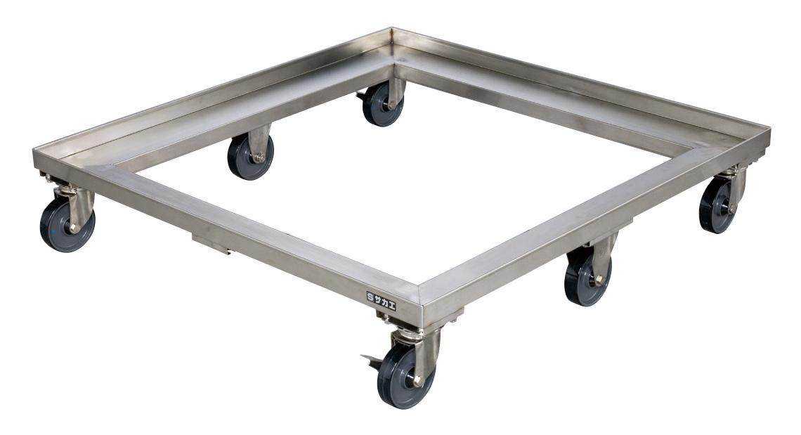 ステンレス樹脂パレット台車 SPR4-116
