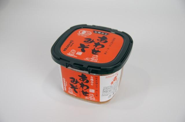 米と麦 双方の素材の美味しさを楽しめます 希少 有機みそ日本と有機麦みそを独自のレシピで合わせました 国産みそあわせみそ600g 本日限定