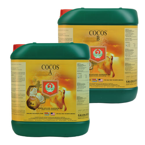 House  Garden COCOは全く新しい構成と手法で作られた革新的、かつ業界最高クラスの肥料 House  Garden COCO A/Bセット 5L ココ培地用肥料
