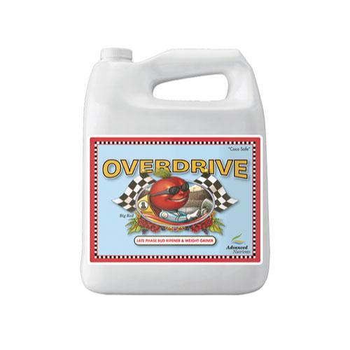 Overdrive 4L 開花期の最後の2週に使用する、フィニッシャー開花促進剤