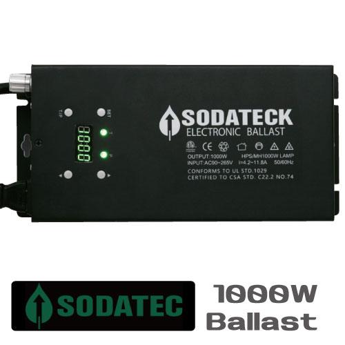 植物育成ライト用 安定器 Sodateck ソダテック バラスト1000W 3段階調光可能で24時間タイマー付きGrow Light Ballasts
