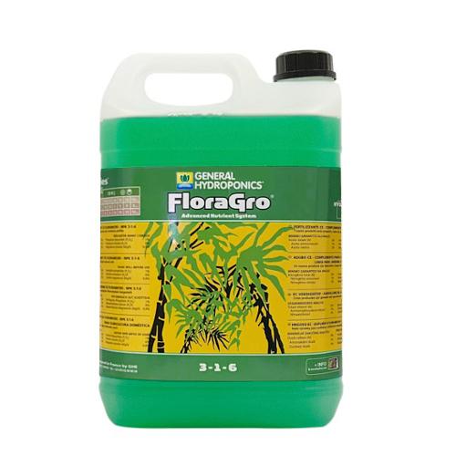 液体肥料 GHE Flora Grow 10L Hydroponic Nutrients
