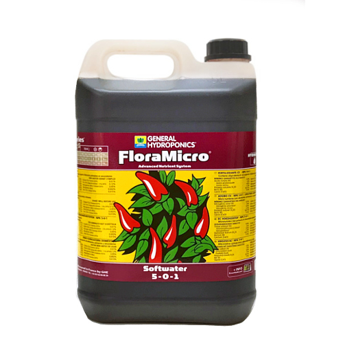液体肥料 GHE Flora Micro 10L Hydroponic Nutrients