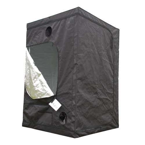 In door Grow Tent 高性能グロウボックス 激安 爆買い新作 120×120×200cm インドアグロウテント は窓が大きく開き作業するにも最適です