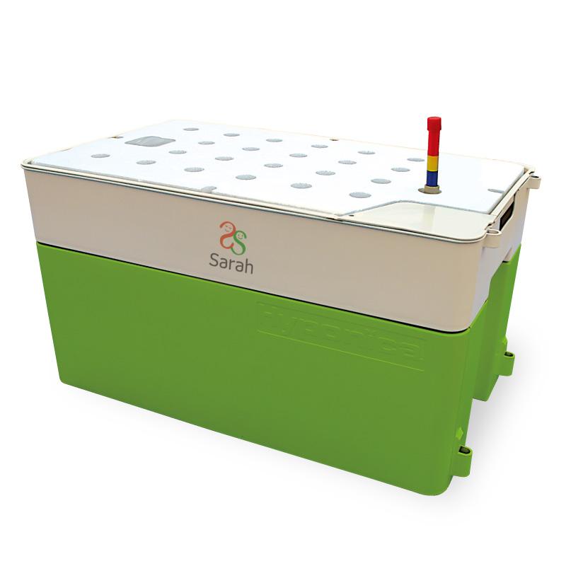 LEDも使える 水耕栽培 キットのホームハイポニカ Sarah(サラ)GREEN 送料無料