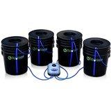 LEDも使える 水耕栽培 キット RootSpa 4 Bucket System エアーレーションシステム