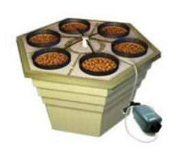 【在庫処分】 GHE  LEDも使える Eco Max Hydro Grower Systems:水耕栽培の自然緑商事 キット 水耕栽培-ガーデニング・農業