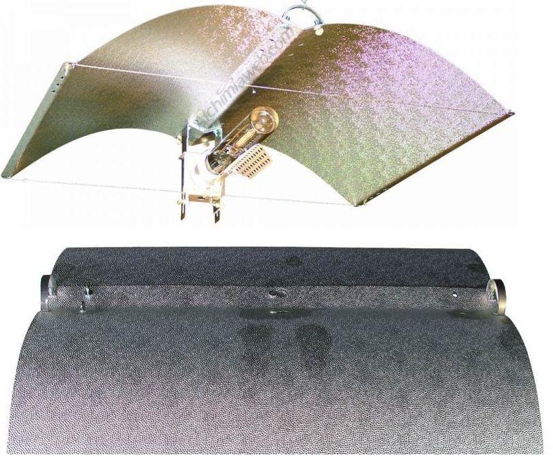 植物育成ライト用リフレクター Mirror Wing Grow Light Reflectors M 水耕栽培