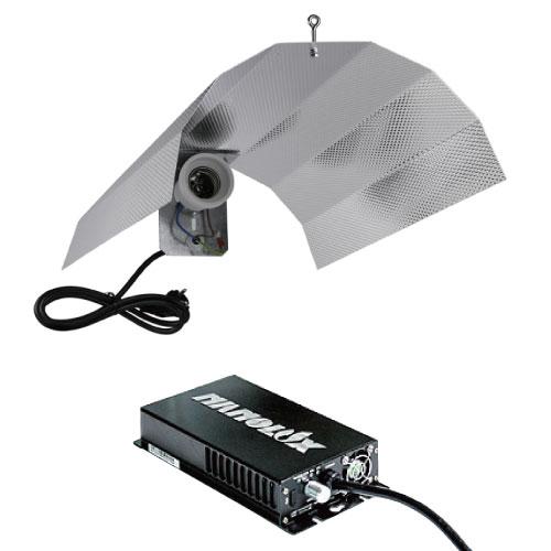 植物育成ライト NanoLux OG400W + GIB Reflector SET GROW LIGHT