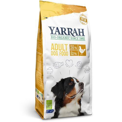ヤラー(Yarrah)オーガニックドッグフード チキン5kgヨーロッパユニオン / ドイツ、フランス、オランダの厳しいオーガニック基準をクリアした高品質と安心をお届け!あなたの愛犬のフードには「認証」がありますか?