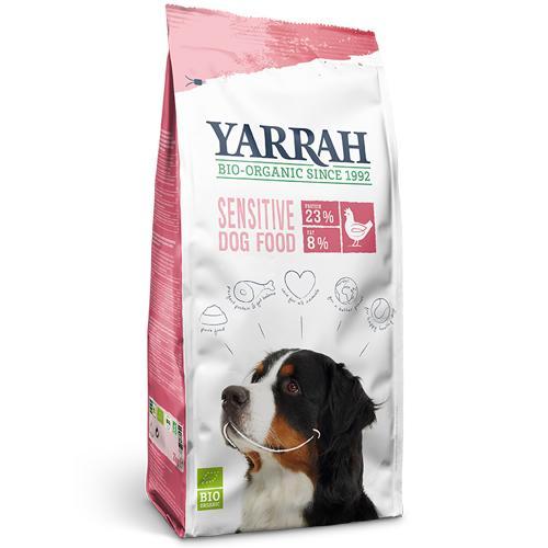 ヤラー(YARRAH)センシティブ5kg小麦・とうもろこし・大豆不使用(グルテンフリー)。食べ物に敏感に反応してお腹の調子が変化するわんちゃんは特にお試し下さい。トラブル軽減を目指すならフードの原料の『質』までこだわりたい!