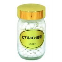 ヒアルロン酸粒・ビン(90g(約360粒))【自然健康社】