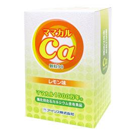 【送料無料】ママカル1500万年 レモン味顆粒90(450g(5g×90本))【アイリス】