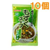 新作 大人気 大幅にプライスダウン ☆ もずくスープ 3.8g マルサン 10個セット