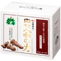 【送料無料】田七人参の力(粒タイプ)(1.5g×150包)【太陽食品】
