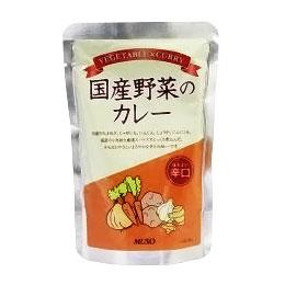 ☆野菜カレー 国産野菜のカレー 辛口 数量限定アウトレット最安価格 ムソー 200g SEAL限定商品
