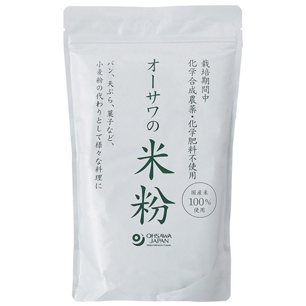 ☆ オーサワの国産米粉 オーサワジャパン 直輸入品激安 正規品送料無料 500g